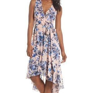 MSRP $168 Eliza J Sleeveless High Low Dress